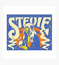 STEVIE Photographic Print