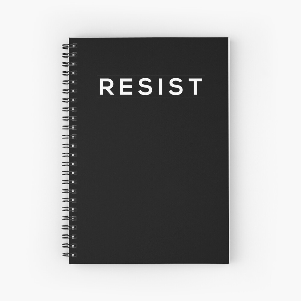 Resist Spiral Notebook