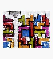 Life as Tetris Photographic Print