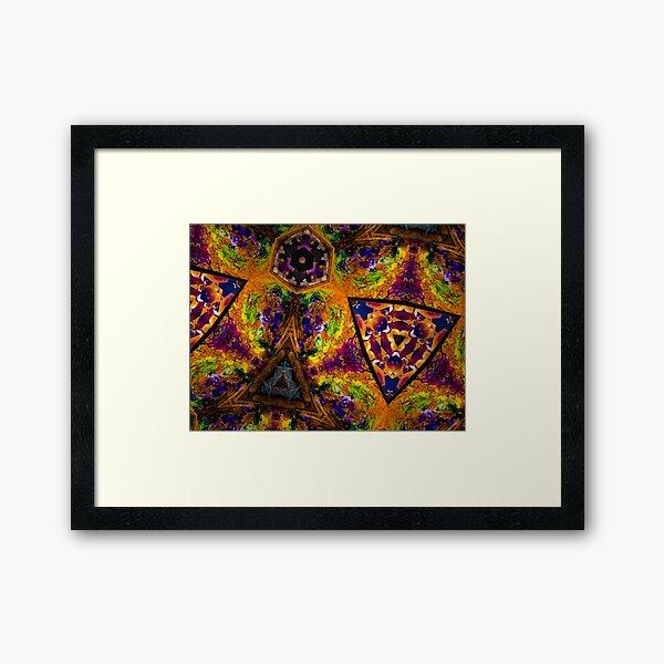 Life's Rich Tapestry Framed Art Print