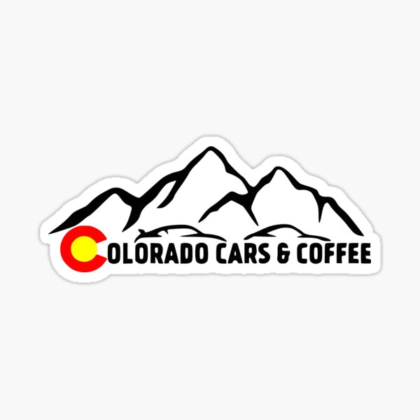 Sticker - CO C&C Mountain Logo Sticker
