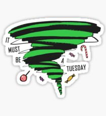 Supernatural: It must be a Tuesday! (Candy Version) Sticker