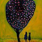 girls with tree' by glennbrady