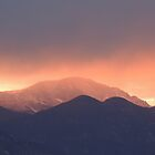 Storm over Pikes Peak by annAHorton