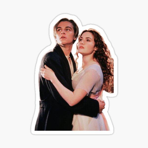 Jack y Rose Pegatina