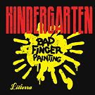 Kindergarten Bad Finger Painting by Lilterra