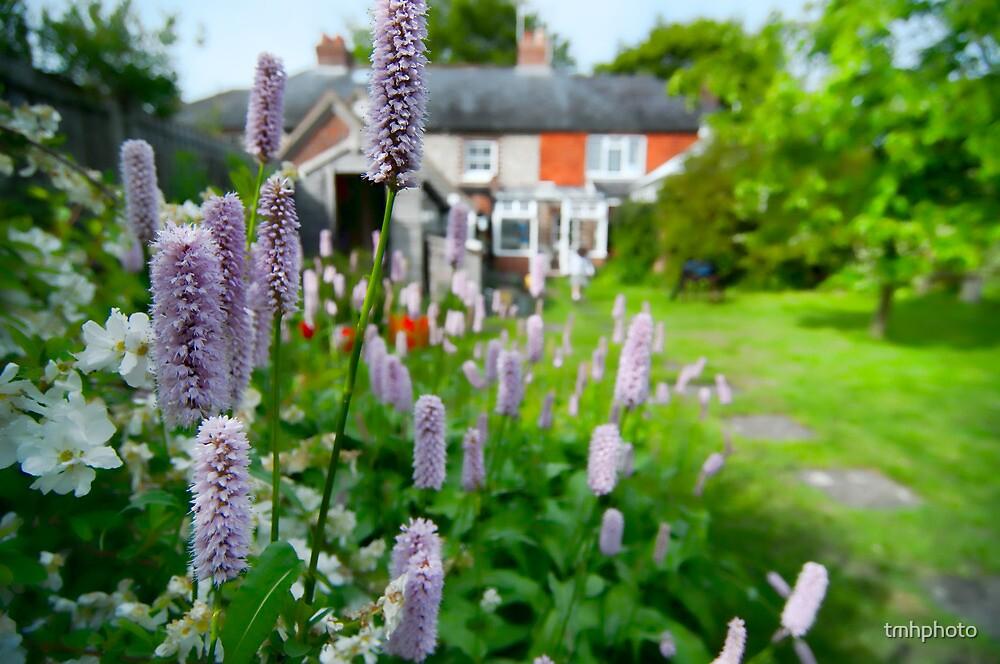 Cottage Garden, Compton, England by tmhphoto