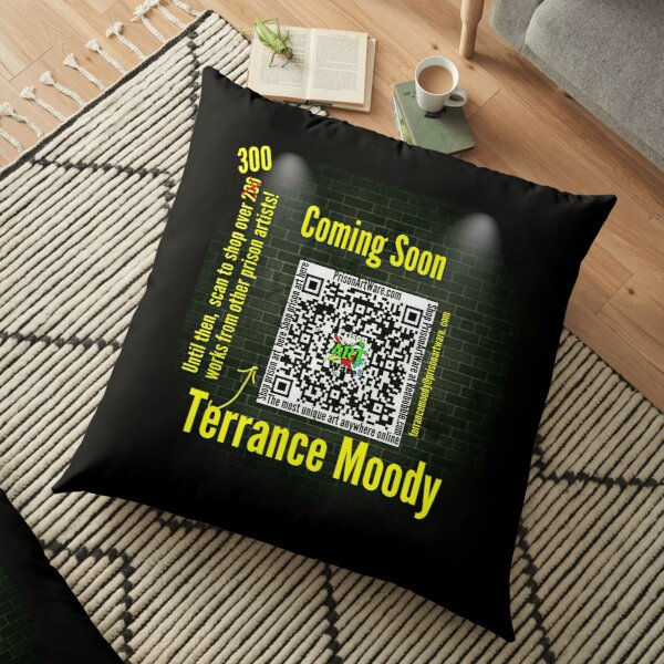 PrisonArtWare.com proudly presents the work of Terrance Moody.  Floor Pillow
