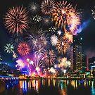 Happy New Year by Ray Warren