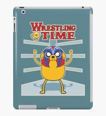 Wrestling time 2 iPad Case/Skin
