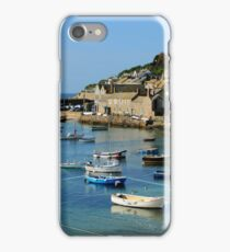 A Peaceful Moment at Mousehole, Cornwall iPhone Case/Skin