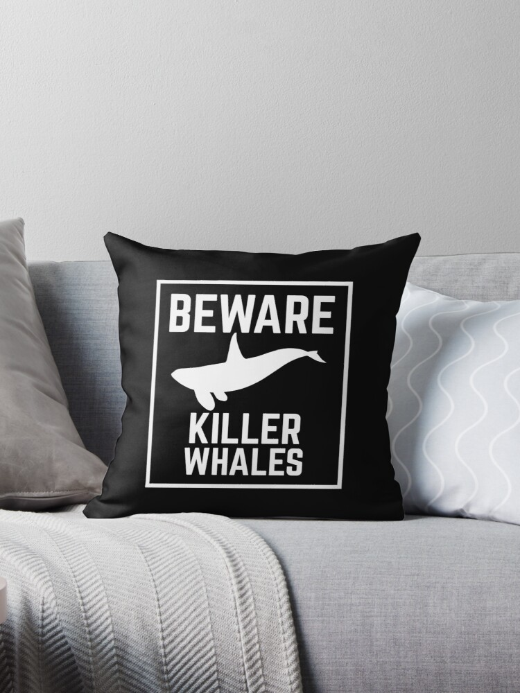 BEWARE KILLER WHALES warning sign  by jazzydevil