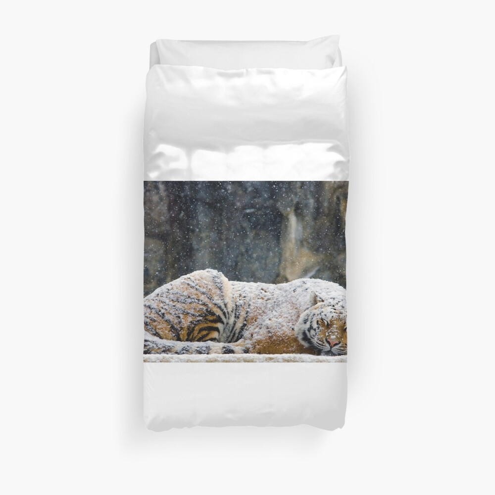 Warm Coat Duvet Cover