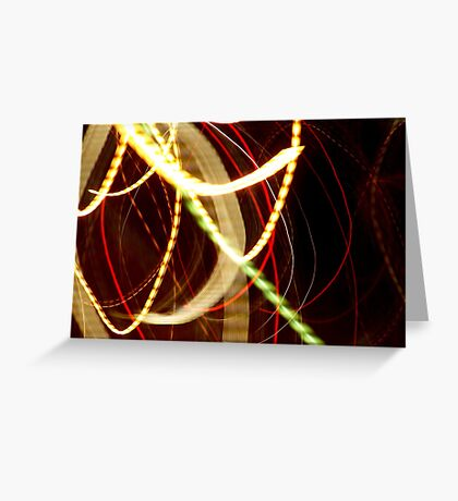 New Tangents Greeting Card