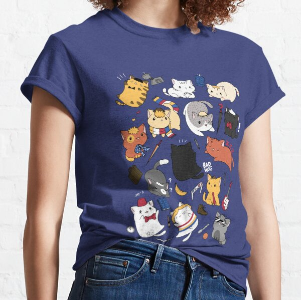 Time Lord Kittens Classic T-Shirt