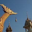 Temple sculptures, Hua Hin, Thailand. by johnrf