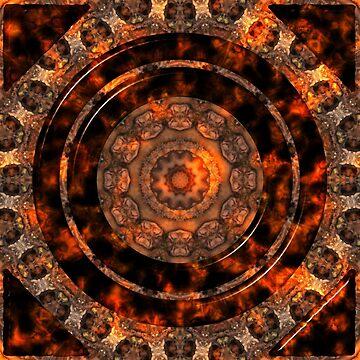 Aztec Mandala Pattern by MarkUK97