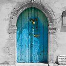 Old Blue Door by jomfix