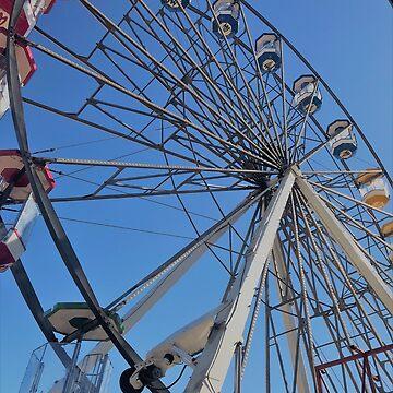 Ferris Wheel at Fair by Holneub