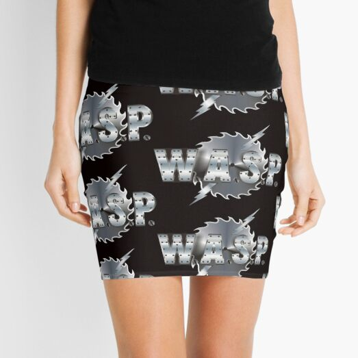WASP LOGO Mini Skirt