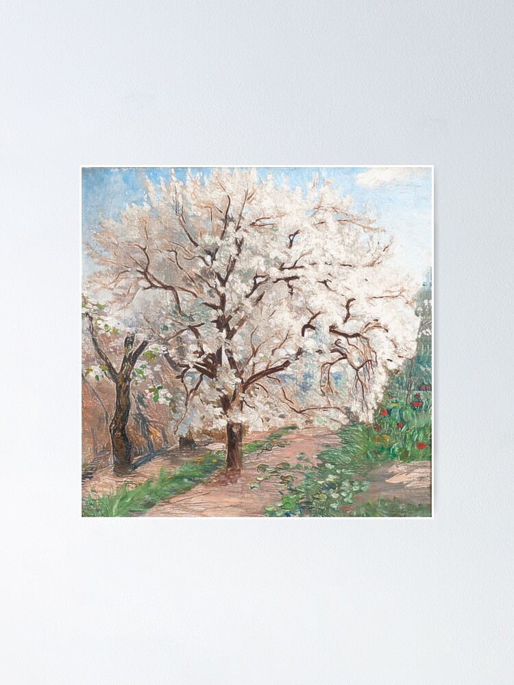 Alternate view of Trees in blossom Poster