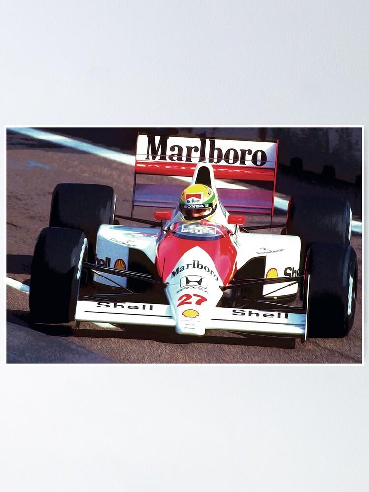 Ayrton Senna Hoodie Race Car Motorsport Formula 1 Racing F1 Sport Gift Unisex