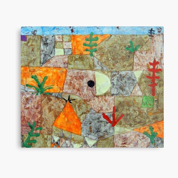Südliche Gärten, Paul Klee Metal Print