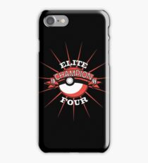 Elite Four Champion Red iPhone Case/Skin