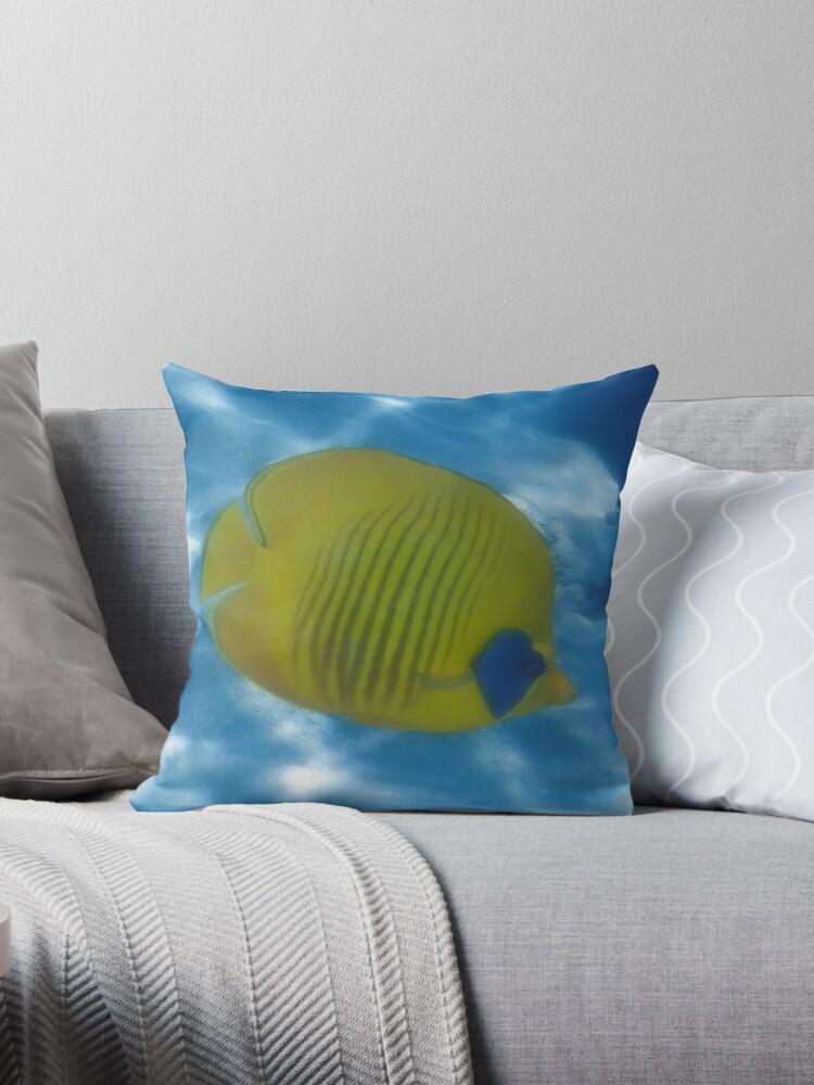 The Bluecheeked Butterflyfish Photoart by hurmerinta