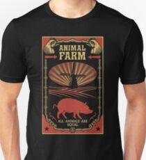 Camiseta unisex Todos los animales son iguales