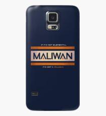 IF IT'S NOT ELEMENTAL, IT'S NOT A MALIWAN! Case/Skin for Samsung Galaxy