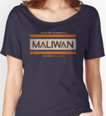 IF IT'S NOT ELEMENTAL, IT'S NOT A MALIWAN! Women's Relaxed Fit T-Shirt