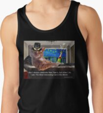 The Most Interesting Cat New Year's Tank Top