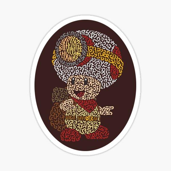 Captain Toad Treasure Tracker Sticker