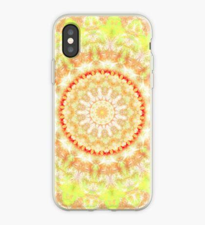 Sun Fire Mandala  iPhone Case
