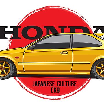 Honda Ek9 Japan by cungtudaeast