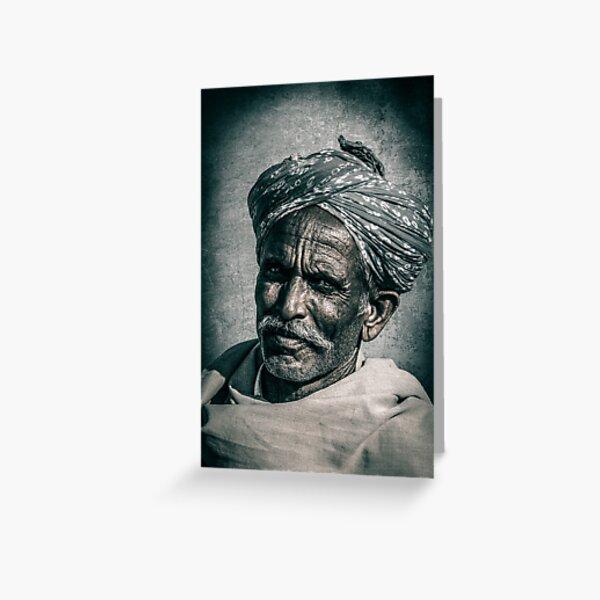 Face of Rajasthan - 2 Greeting Card