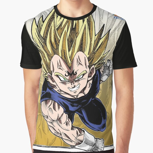 Majin Vegeta Graphic T-Shirt
