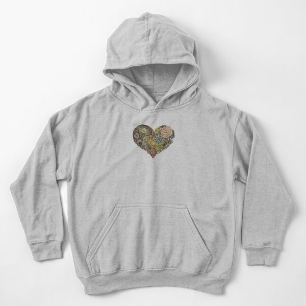 Tangled Heart Kids Pullover Hoodie