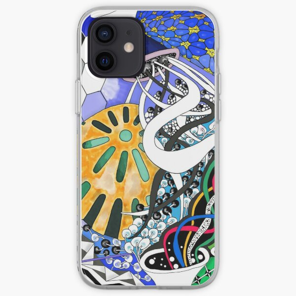 Spiraling Energy in the Universe iPhone Soft Case