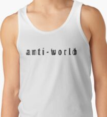 Black Anti Men's Tank Top