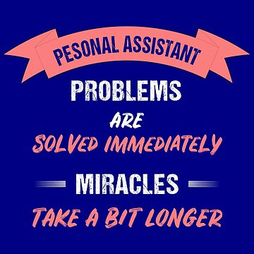 T-shirt Personal Assistant - Secretary by Juttas-Shirts