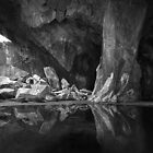 The Black Pool. Cathedral Cave, Little Langdale. English Lake District by Mark Haynes Photography