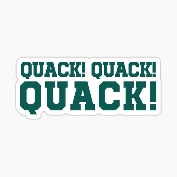QUACK! QUACK! QUACK! Sticker