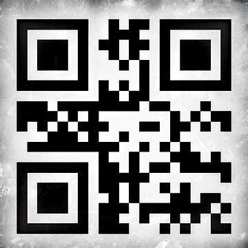 I am a geek QR code [grunge edition] by Escarpatte