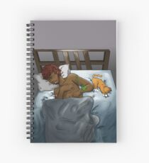 Sleeping Spiral Notebook