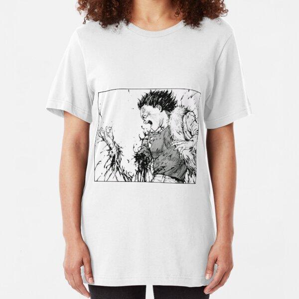 Akira Tetsuo Losing Arm Slim Fit T-Shirt