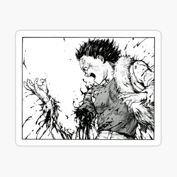 Akira Tetsuo Bras Perdant Sticker