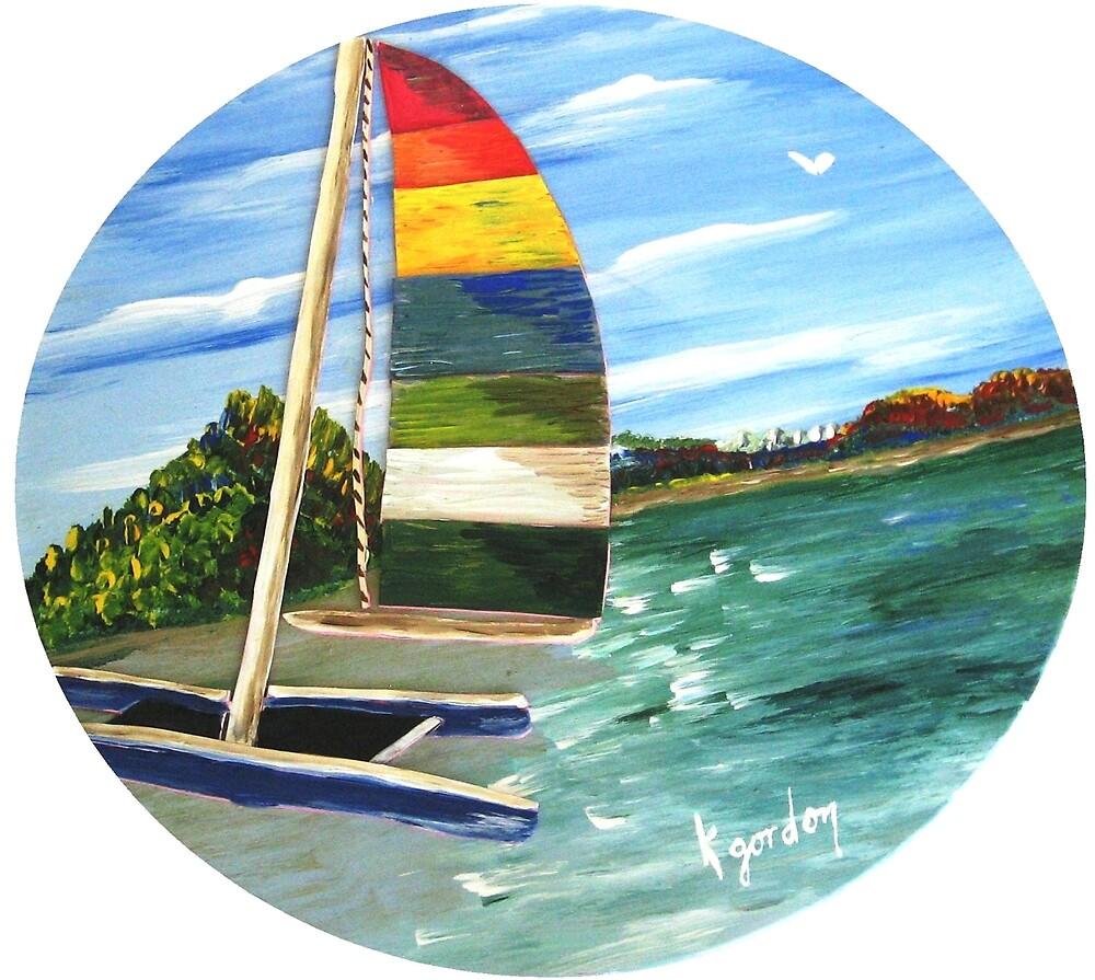 Ready to Sail Away by WhiteDove Studio kj gordon