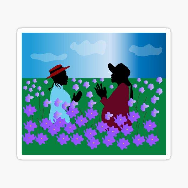 The Color Purple Nettie & Celie Sticker
